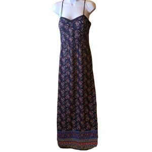 Xhilaration Floral Maxi Dress Size Large